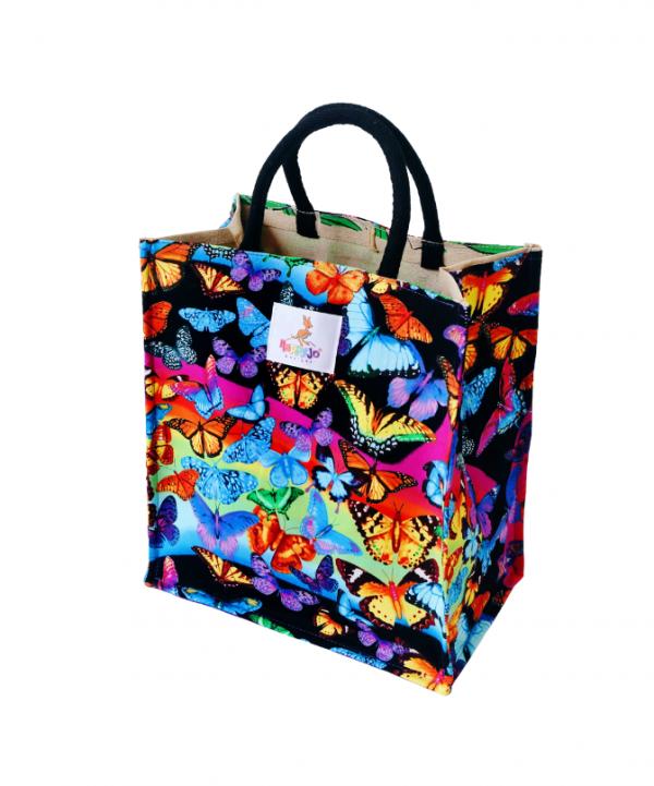 Everyday Bag - Butterflies Rainbow 1