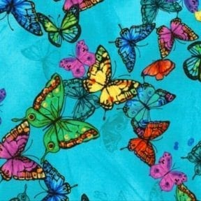 Nappy Change Bag - Butterflies