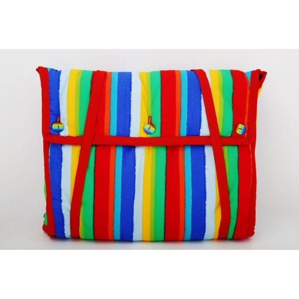 Nappy Change Bag - Rainbow Red